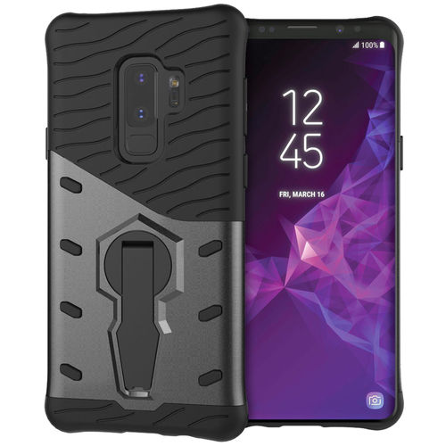 Slim Shield Tough Shockproof Case for Samsung Galaxy S9+ (Grey)
